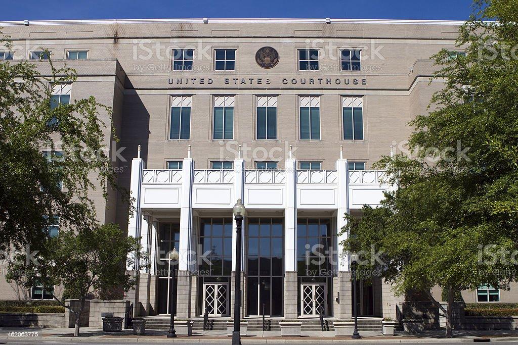 United States Courthouse Pensacola stock photo