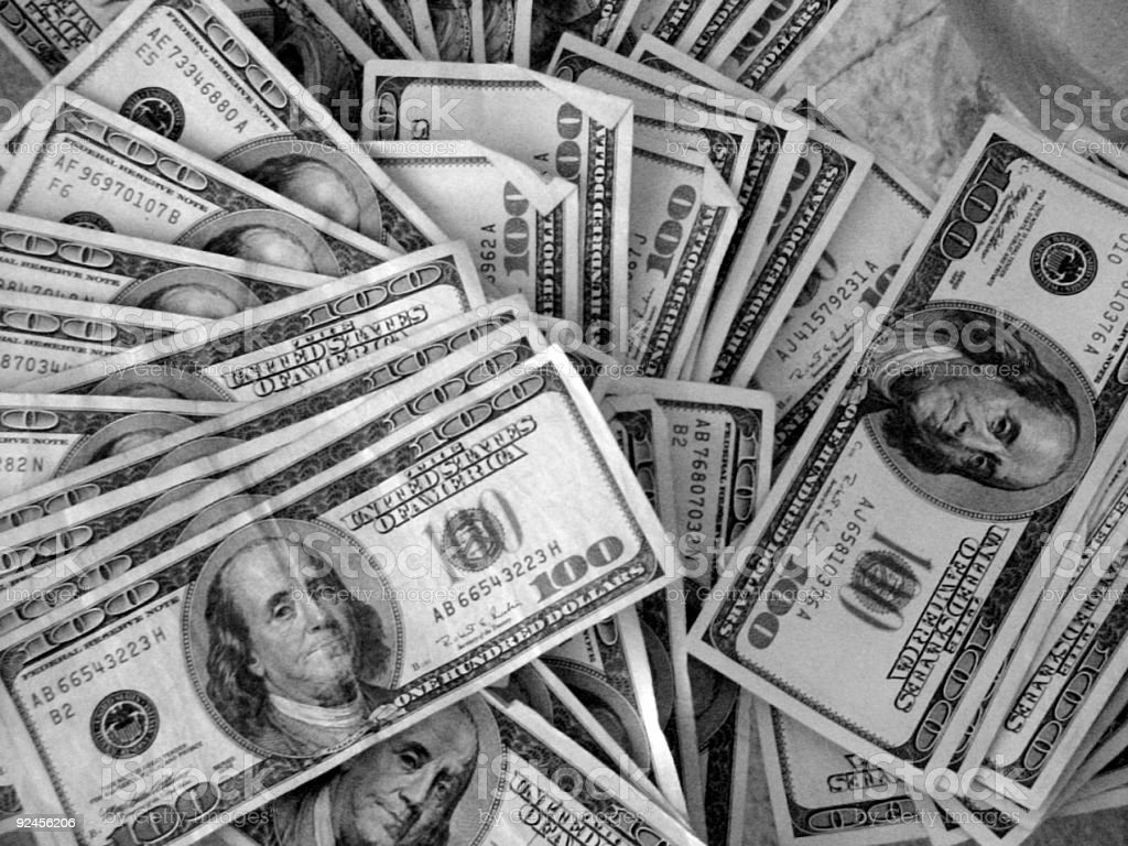 united states currency royalty-free stock photo