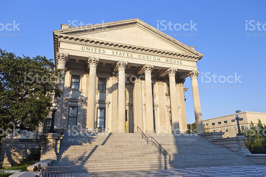 United States Custom House In Charleston, South Carolina royalty-free stock photo