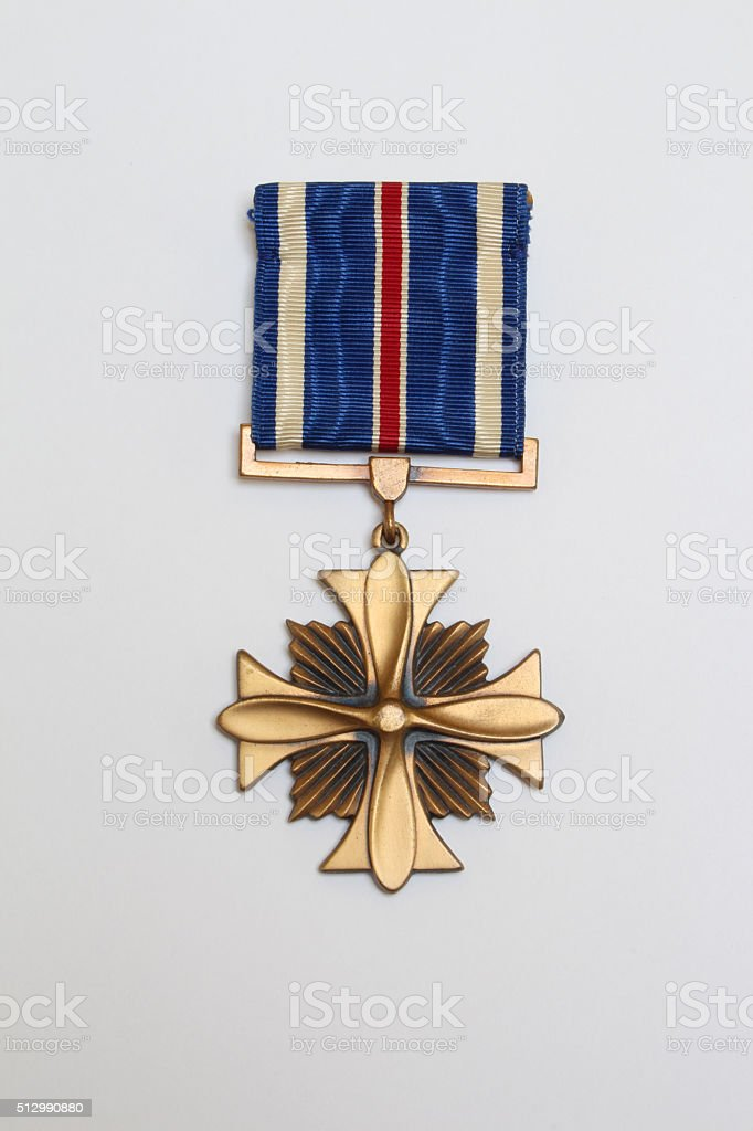 United States Distinguished Flying Cross stock photo