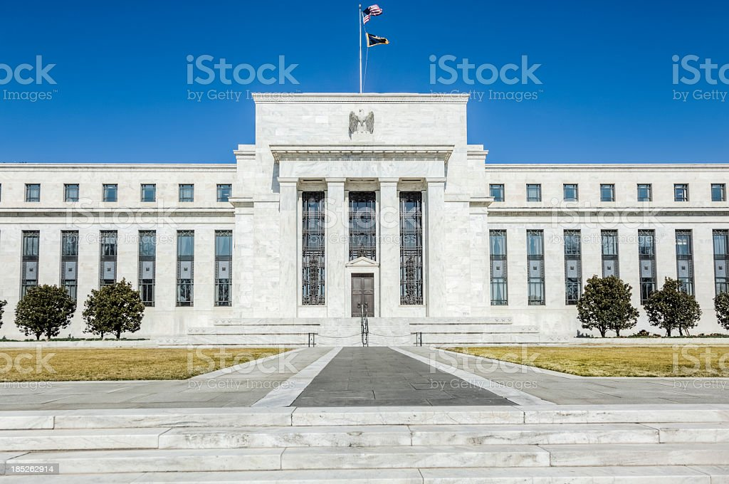United States Federal Reserve stock photo