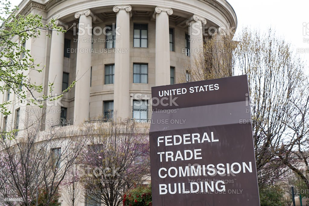 United States Federal Trade Commission stock photo