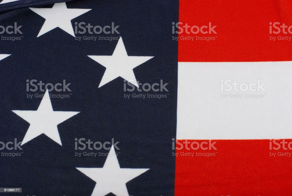 United States flag 5 royalty-free stock photo