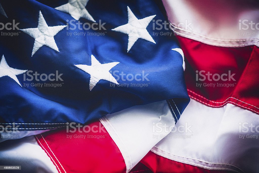 United States Flag royalty-free stock photo