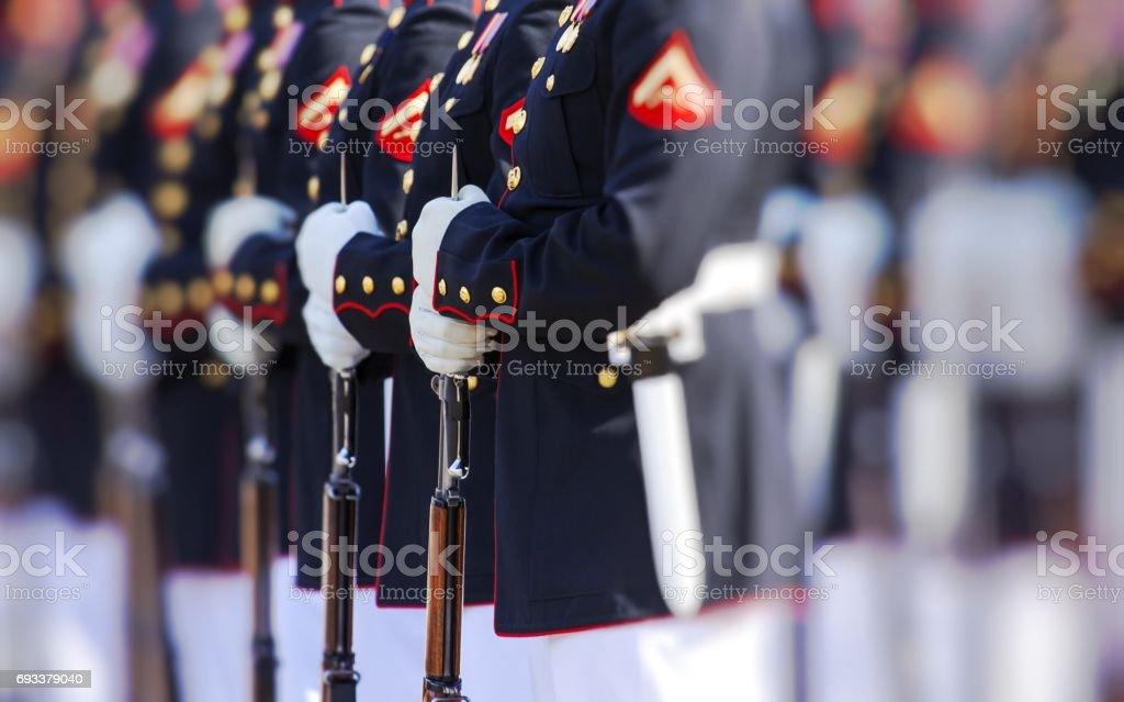 United States Marine Corps stock photo