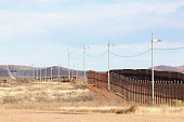 United States Mexico Border Fence Immigration Barrier