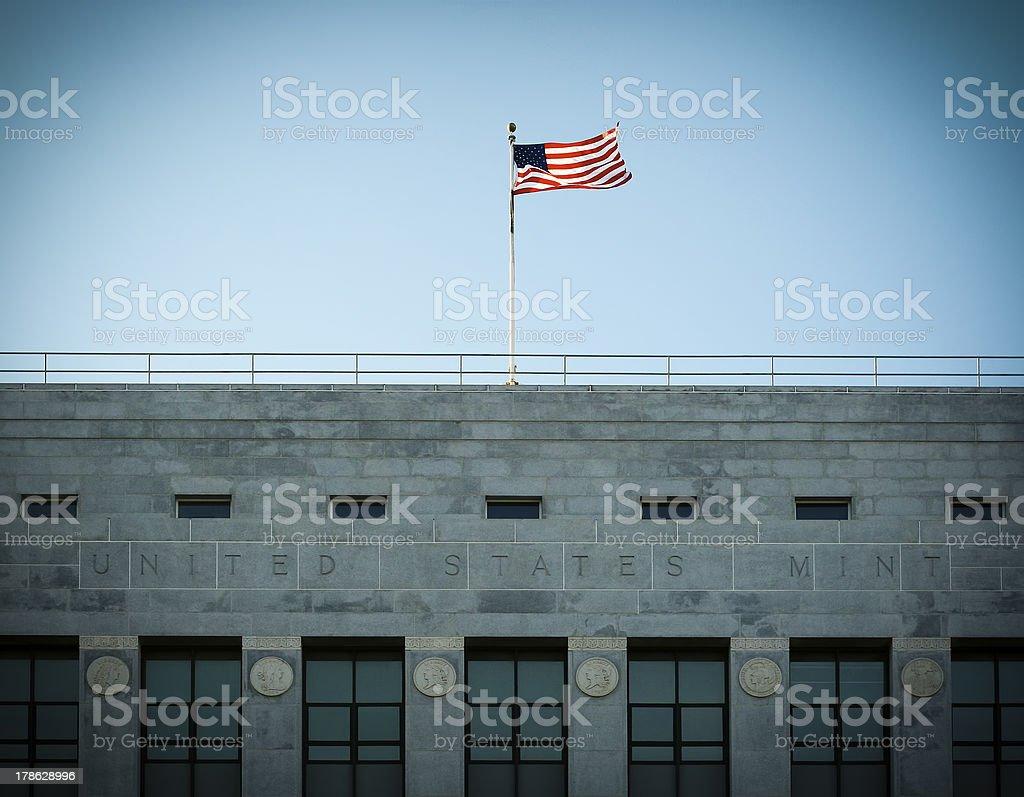 United States Mint royalty-free stock photo