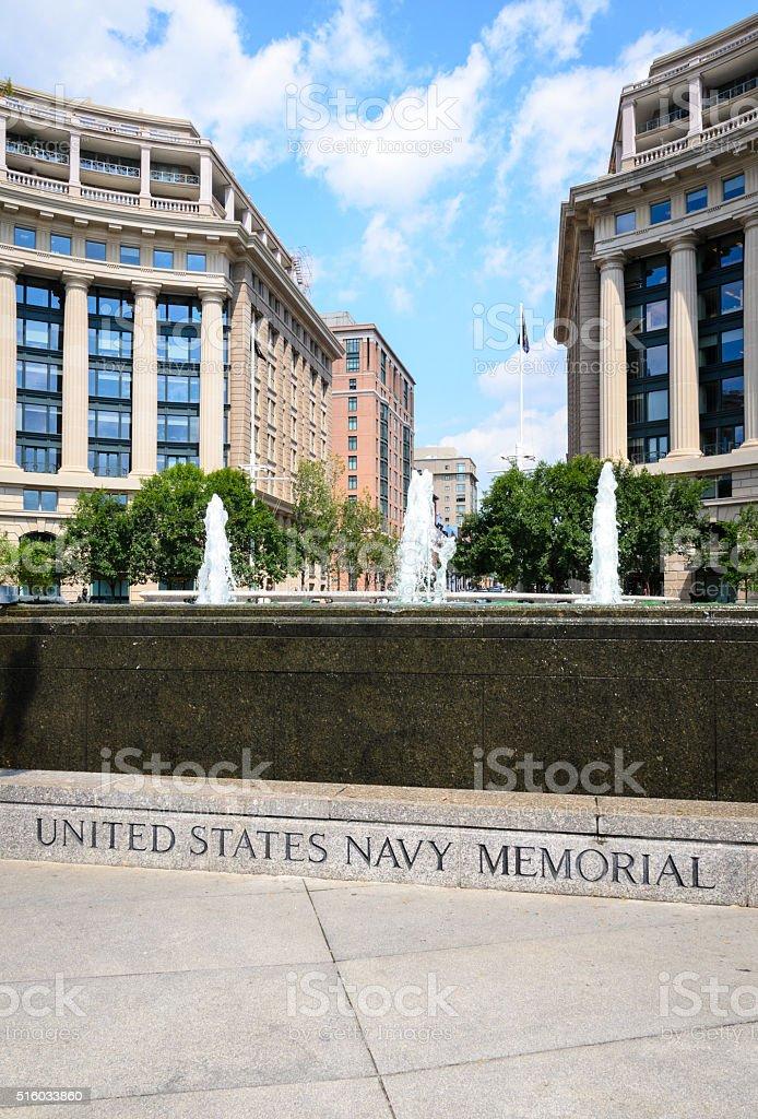 United States Navy Memorial stock photo
