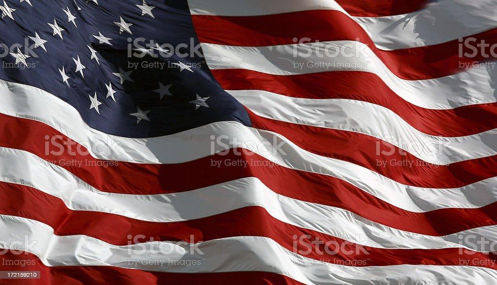 United States of America Flag. royalty-free stock photo
