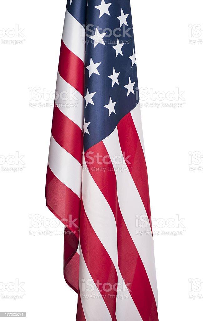 United States of America flag royalty-free stock photo
