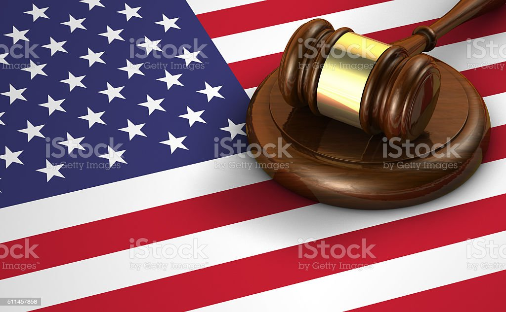 United States Of America Law And Justice stock photo