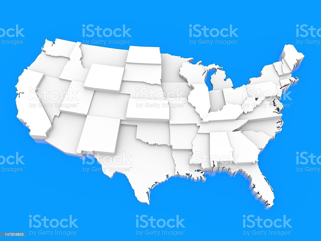 United states of America royalty-free stock photo