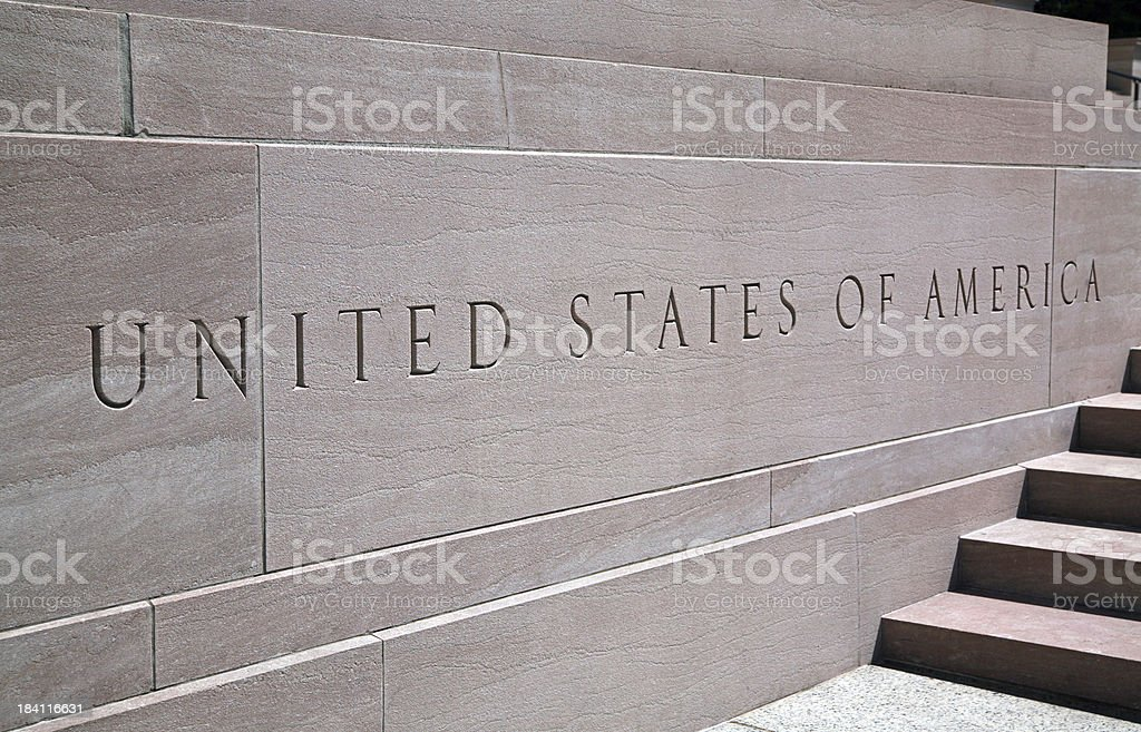 United States of America royalty-free stock photo