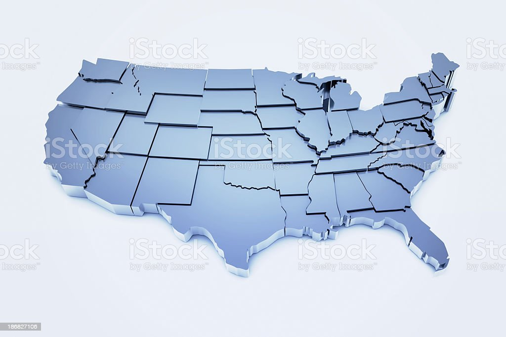 United States of America stock photo