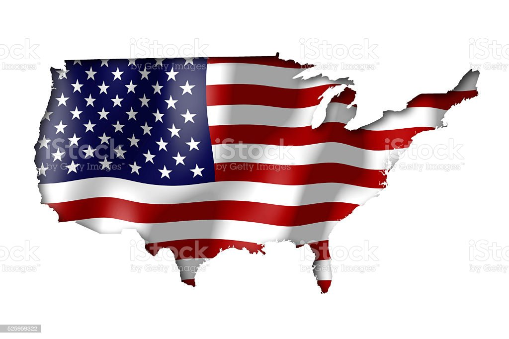 USA - United States of America stock photo