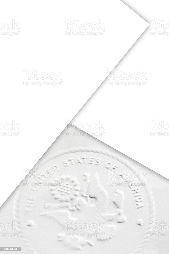 United States of America Stamp royalty-free stock photo