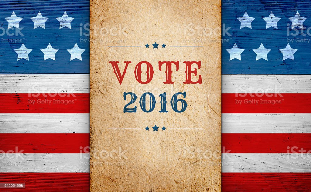 United States presidential election day 2016 stock photo