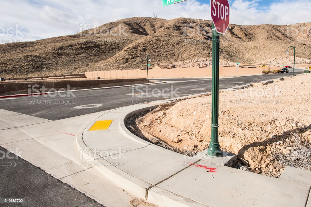 United States Stop sign stock photo