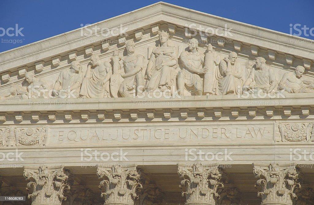 United States Supreme Court royalty-free stock photo