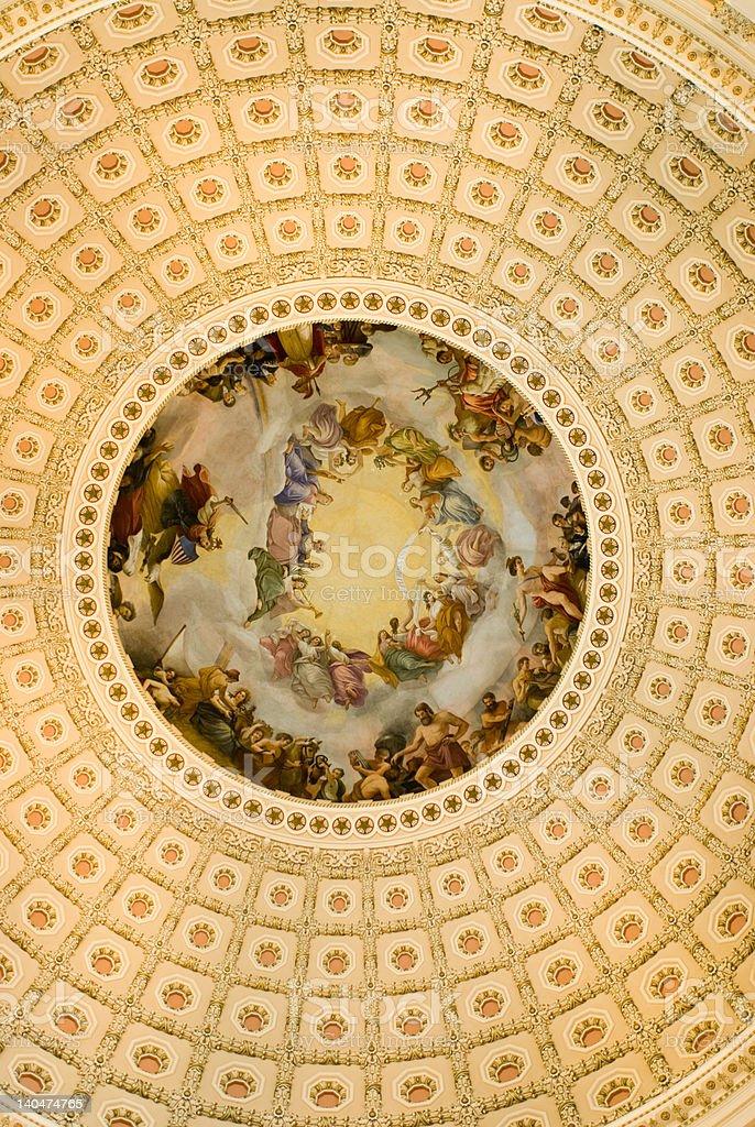 United States U.S. Capitol Building Washington D.C. royalty-free stock photo