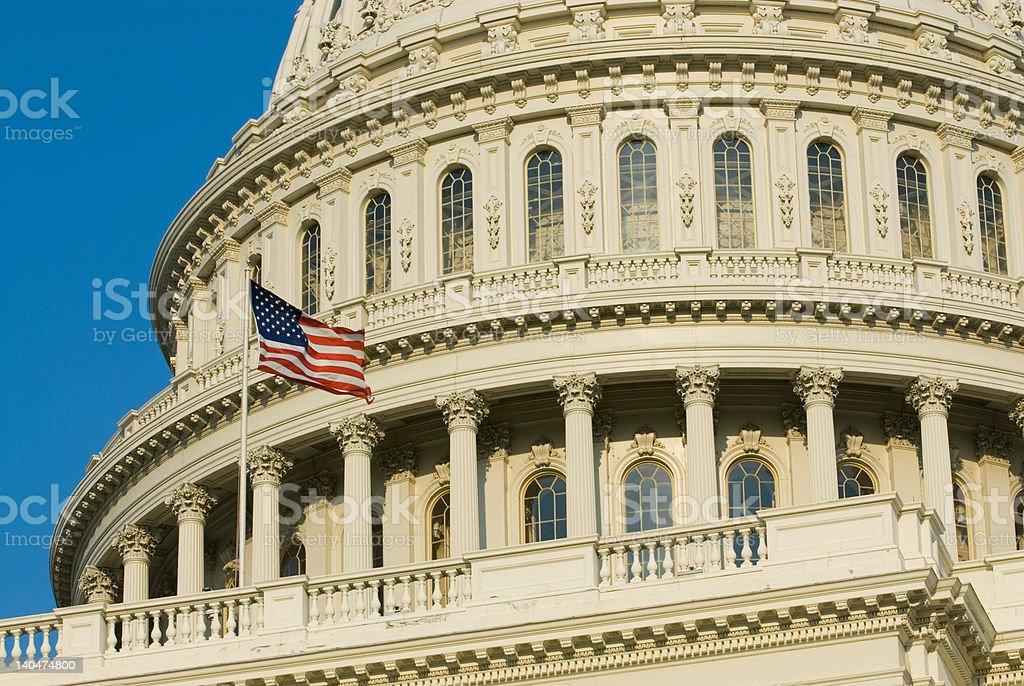 United States U.S. Capitol Building Washington D.C. stock photo