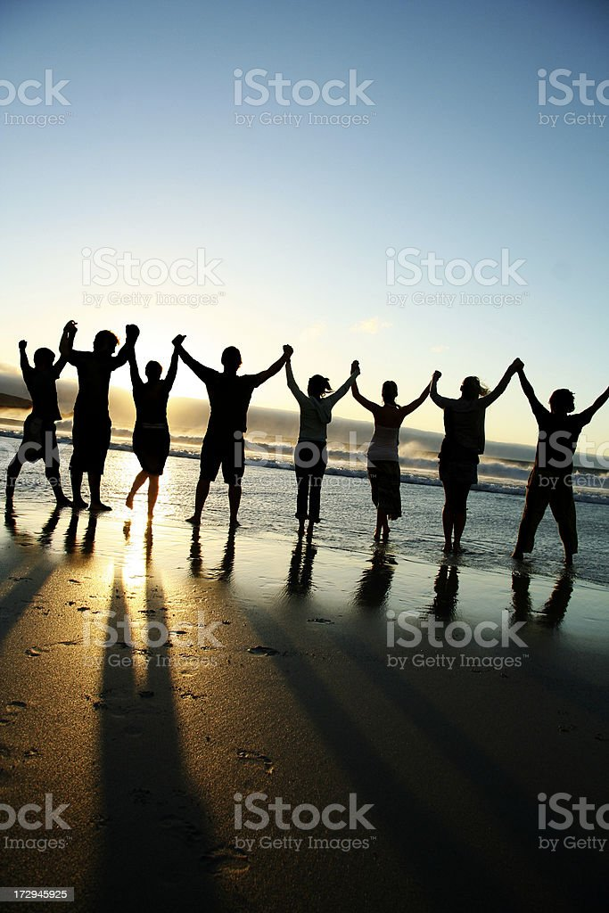 united we stand royalty-free stock photo