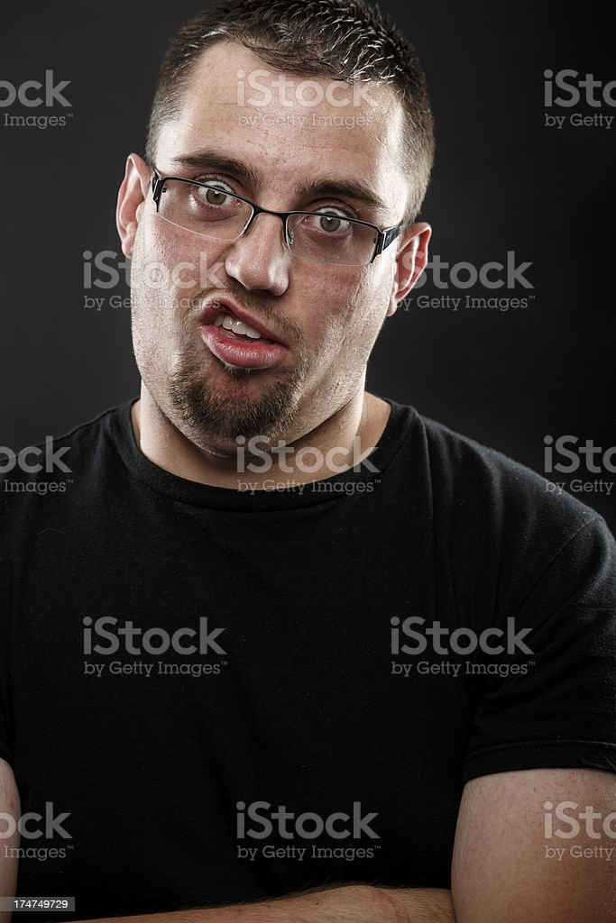 Unitelligent Man stock photo