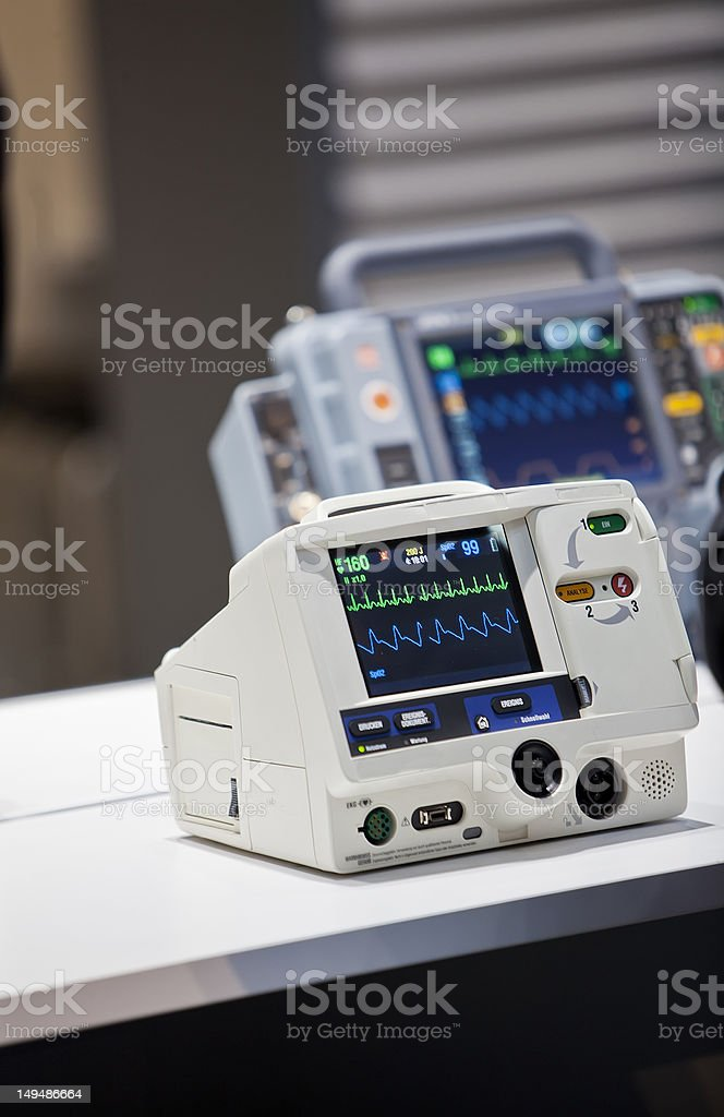 ICU units in the hospital royalty-free stock photo