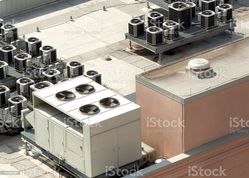 AC Units stock photo