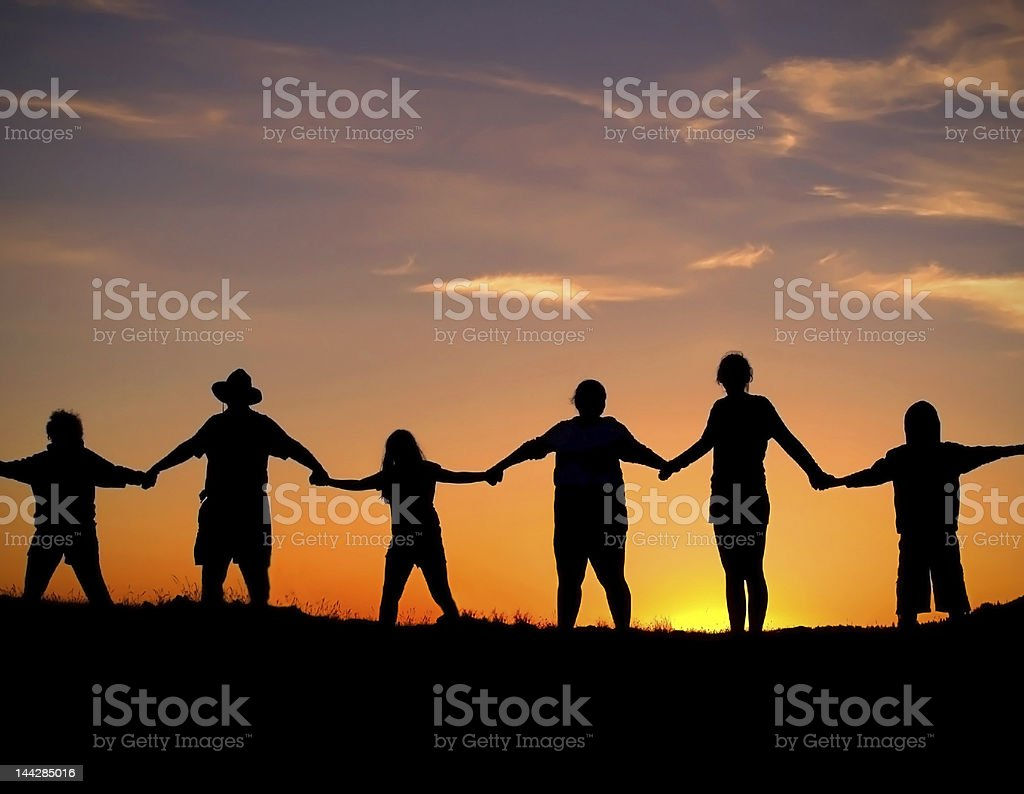 Unity and Strength stock photo