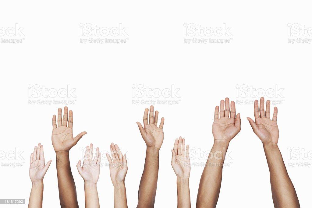 Unity in diversity stock photo