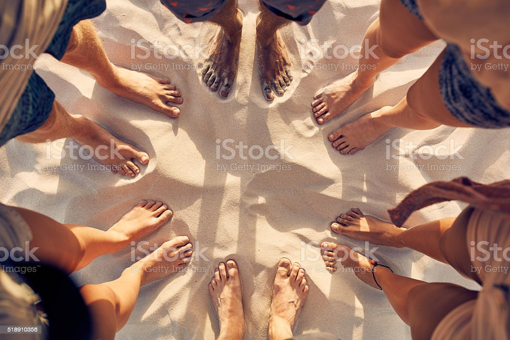 Unity in diversity stock photo