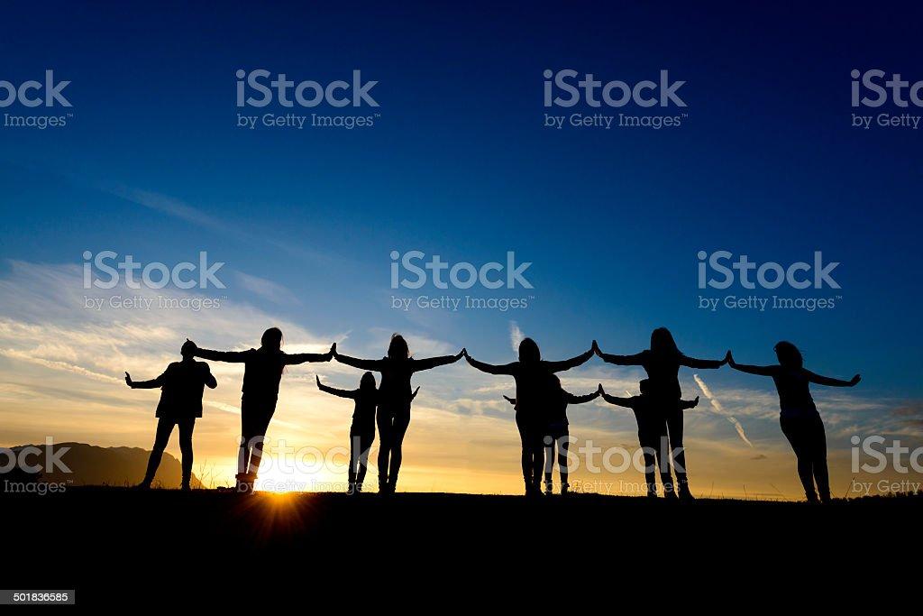 unity makes us free stock photo