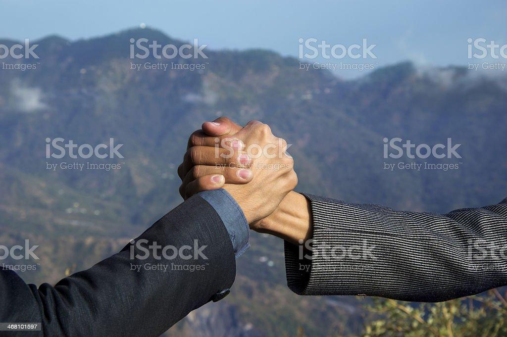 Unity royalty-free stock photo
