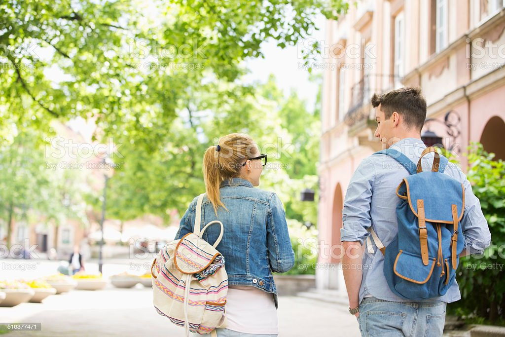 Univeristy College Student Lifestyle stock photo