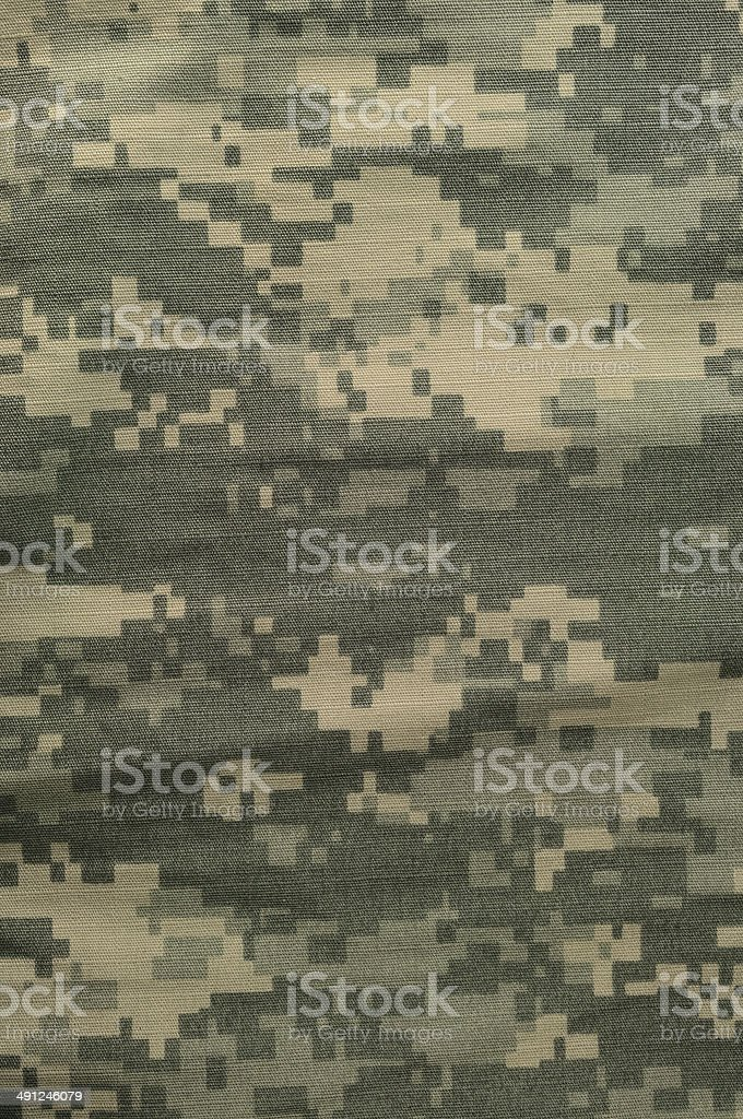 Universal camouflage pattern, army combat uniform digital camo, USA ACU stock photo