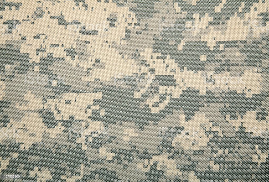 Universal Camouflage Pattern (COLD) royalty-free stock photo