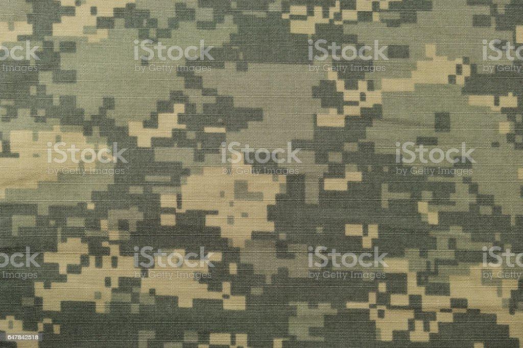 Universal camouflage pattern stock photo