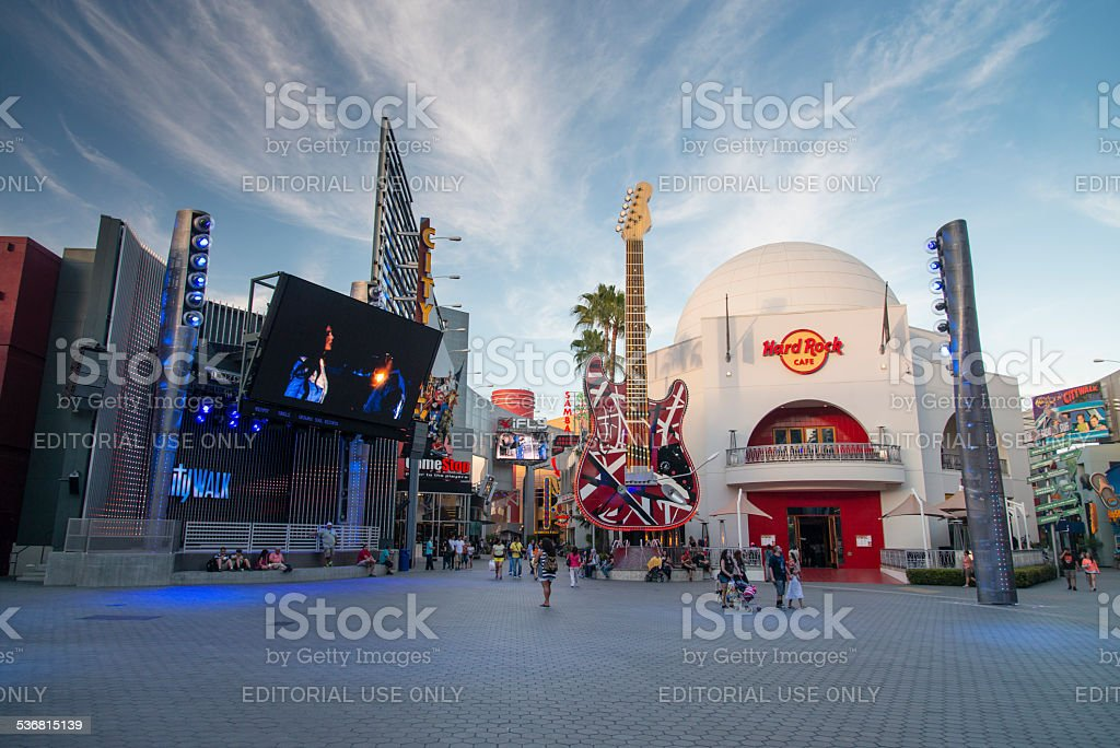 Universal City stock photo