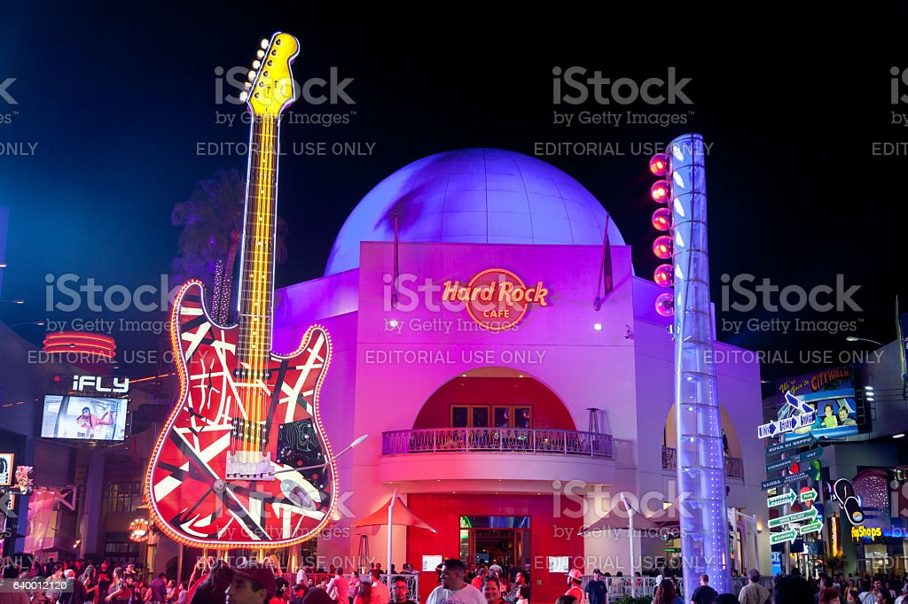 Universal CityWalk Hollywood stock photo