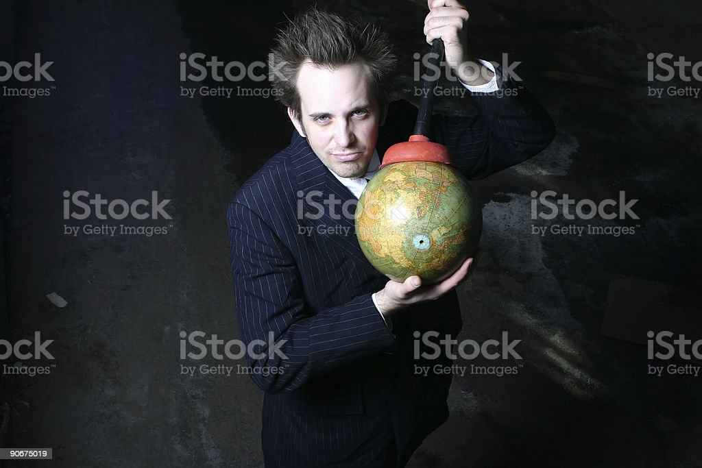Universal Guru royalty-free stock photo