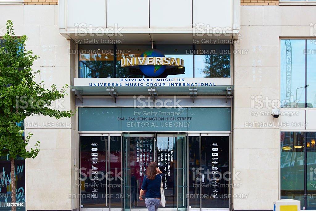 Universal Music building stock photo
