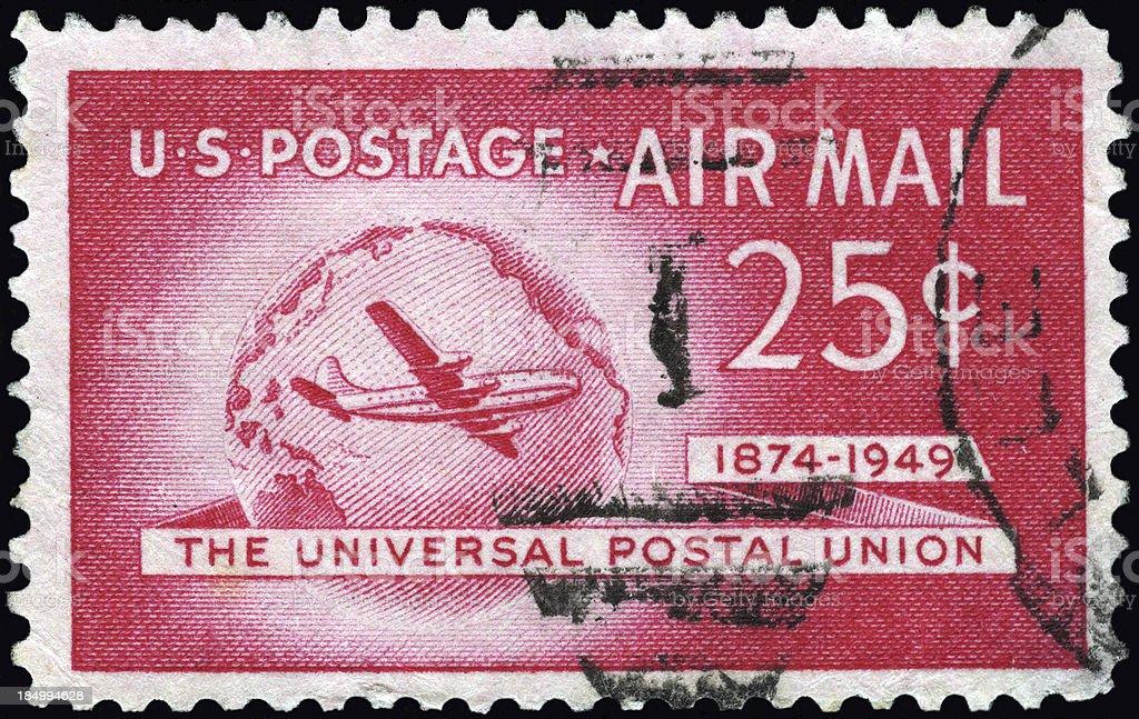 Universal Postal Union royalty-free stock photo