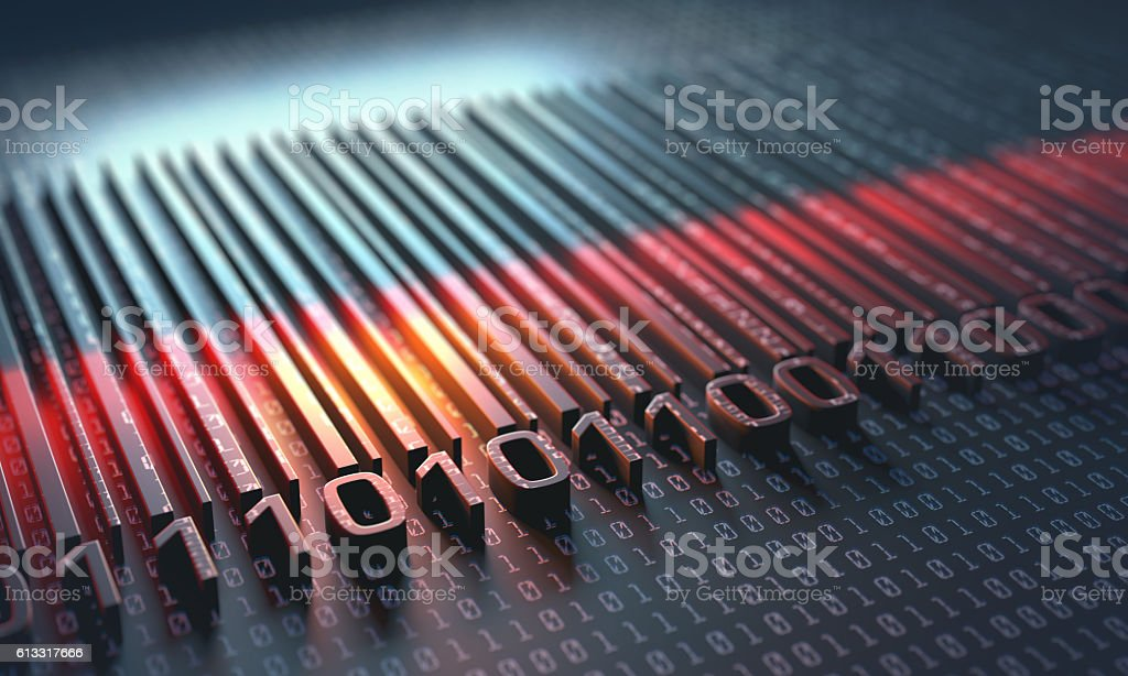 Universal Product Code stock photo