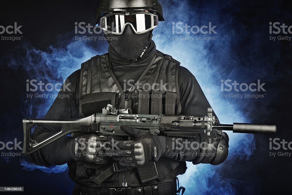 Universal Soldier royalty-free stock photo
