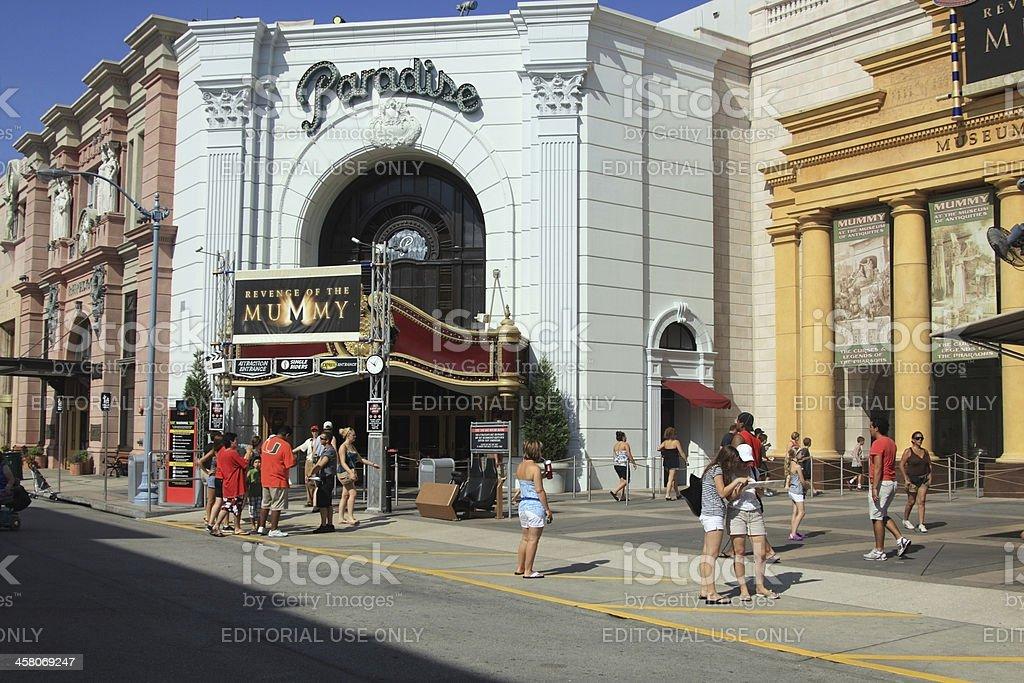 Universal Studio in Orlando, Florida royalty-free stock photo