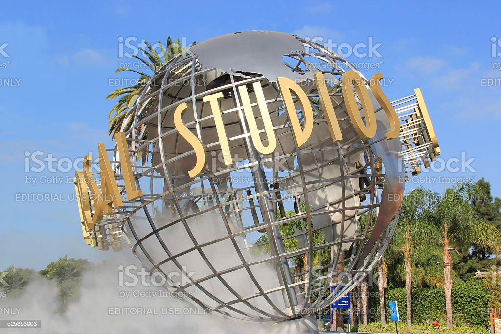 Universal Studios Hollywood stock photo
