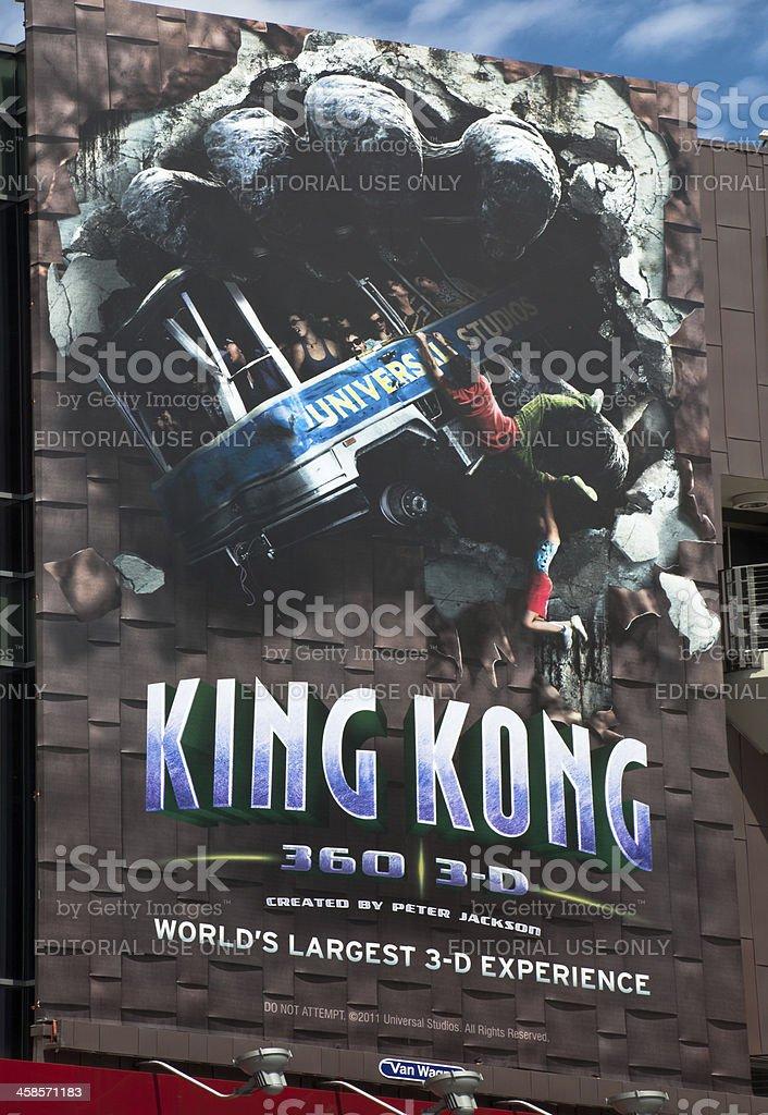 Universal Studios King Kong stock photo