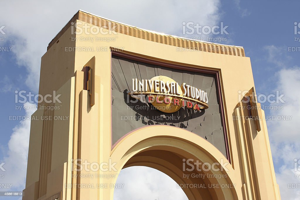 Universal Studios Orlando Theme Park royalty-free stock photo