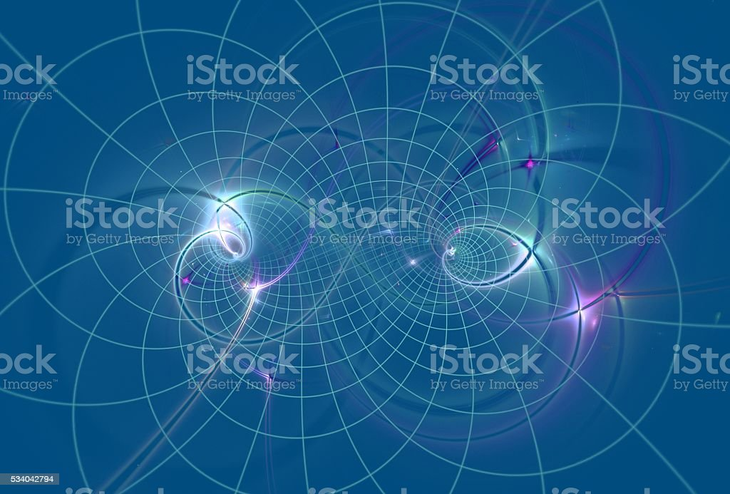 Universe. Abstract image stock photo
